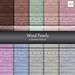 Wood Panels Floors Walls 10 Seamless Textures NM