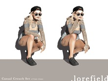.lorefield - Casual Crouch Set