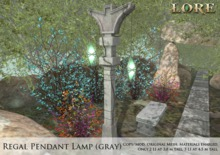 {LORE} Regal Pendant Lamp (gray)