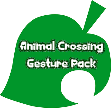 Animal Crossing Expression Gesture Pack