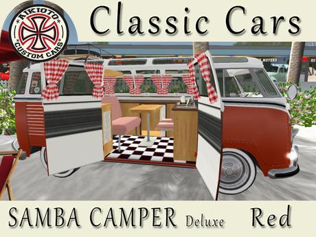 [AIKIOTO] Samba Camper Red Deluxe
