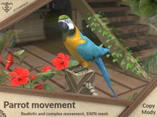 Parrot movement (realistic movement)  .:JC:.