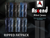 //Ascend// Mikel Jeans - Ripped Fatpack [ADD ME]