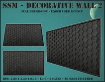 SSM - Decorative Wall 2