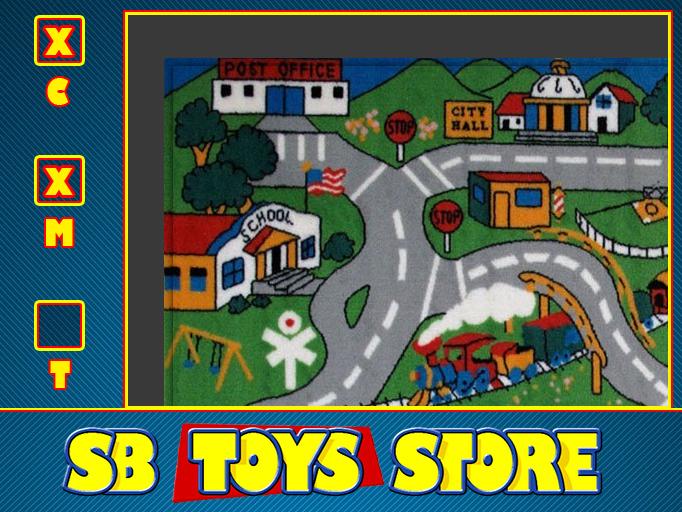 [SB TOYS] Toy Car Mat