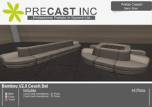 Bambou V2.0 - Couch Set