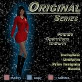 Trek Designs - TOS Female Operations Uniform