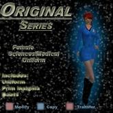 Trek Designs - TOS Female Sciences Uniform