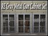 Gray metal gun cabinet ad pic1