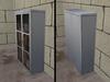 Gray metal gun cabinet ad pic2