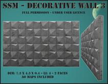 SSM - Decorative Wall 3