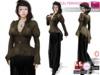 Full Perm Steampunk Peplum Jacket for Ocacin,Slink,Maitreya,Belleza,Tonic,TMP, Ebody, Fitmesh 5 Sizes