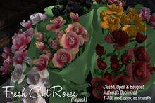 [ Organica ] Fresh Cut Roses (Fatpack)