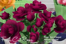 [ Organica ] Fresh Cut Roses (Magenta)