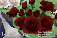 [ Organica ] Fresh Cut Roses (Red)