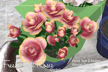 [ Organica ] Fresh Cut Roses (Sherbet)
