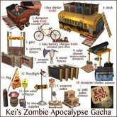 12. Kei's Zombie Apoc Gacha (floodlight)