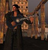 """Zorro"" Custom Classical Guitar by Voodoo!"