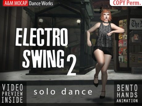 A&M: Electro Swing 2 - solo dance (BENTO hands) : #TAGS - electroswing, retro, vintage, twist, parov stelar, booty swing