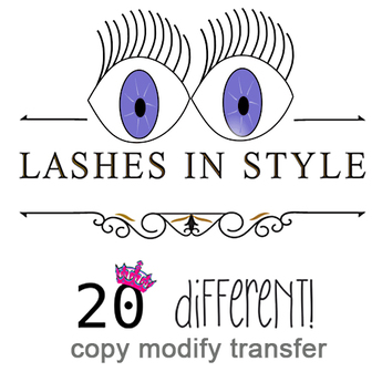 FREE GIFT Eyelashes 20 different in style fullperm