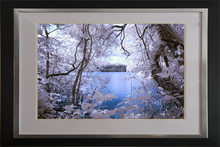 Hidden Lake in infrared