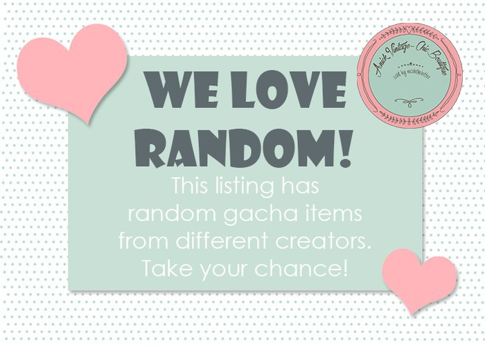 RANDOM GACHAS LIMITED OFFERS JUST 9 $L