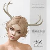 Snowpaws - Reindeer Antlers - Plain