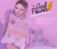 {CowTea} Girl Power Squeezy Pillow - Gift