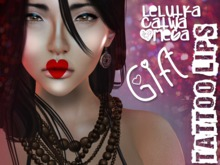 UA -  Tattoo Lips 8 Colors (Omega/ Catwa/ Lelutka) GIFT