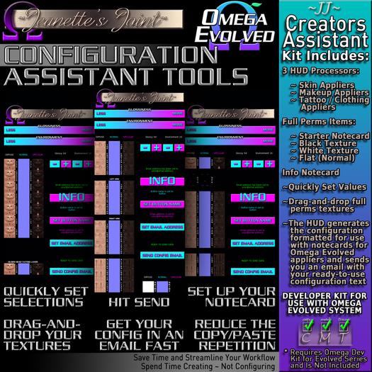 ~JJ~ Omega Evolved Configuration Assistant Tools