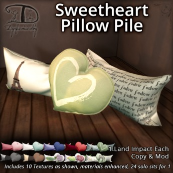 [DDD] Sweetheart Pillow Pile