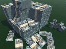 Mega Money Pack Mesh Full Perm (USD, EUR, GBP, CNY, RUB)