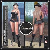 [RnR] Swag Rockin Cowgrl Outfit (Two) [BOX]