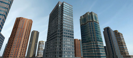 Skyscrapers Mega Pack Mesh (53)