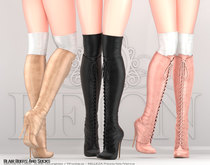 REIGN.- BLAIR BOOTS AND SOCKS- FATPACK