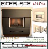 KOKEM SHOP-Fullperm.FIREPLACE(1LI) BOX
