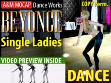 A&M MOCAP - Beyonce: Single Ladies - SOLO DANCE (transfer)