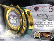 CODE-5 [BEATRIX] Watch Set V.0.01