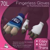 Puchimono Fingerless Gloves