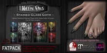 DP - Koffin Nails - FatPack - Stained Glass Goth