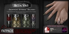 DP - Koffin Nails - FatPack - Serpent Strike - Silver (Boxed)
