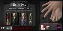 DP - Koffin Nails - FatPack - Serpent Strike - Gold