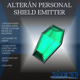 Alteran Personal Shield Emitter 1.0 (Boxed)