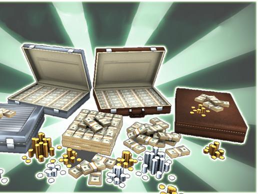 Money Mega Pack Mesh Full Perm