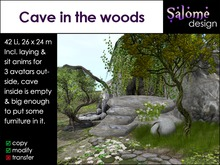 Cave in the woods Sales Box