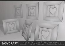 EasyCraft - Heart Photo Frame Wall / Stand Decor Kit