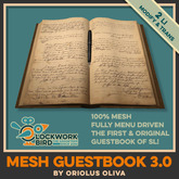 [OO] Mesh GuestBook v3.0 - The original one!