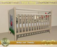 "Baby cot Children's room""Teddy"",100% mesh (full perm)."