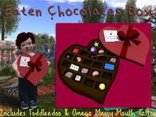 Eaten Chocolates Box & Messy Face