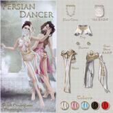 Belle Epoque { Persian Dancer } Top Black M (Box)